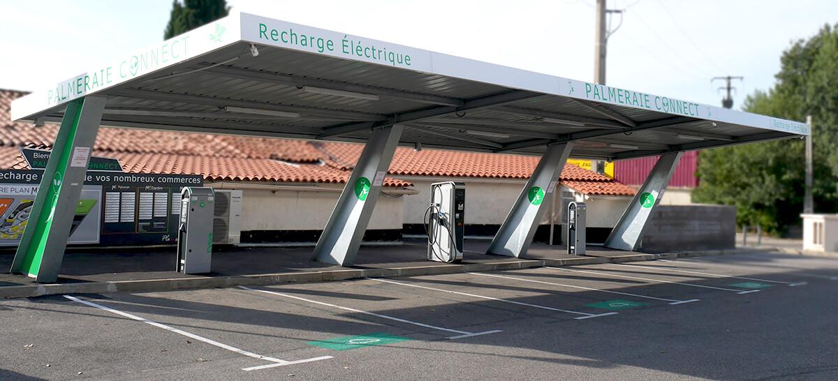Station électrique